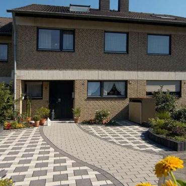 Gartengestaltung K Ln hauseingang gestalten beispiele einfahrt pflastern beispiele beste garten ideen hauseingang